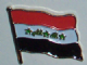 Iraq Country Flag Enamel Pin Badge